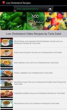 Low Cholesterol Recipes apk screenshot