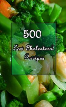 Low Cholesterol Recipes poster
