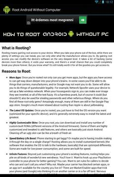 Root Android™ without PC apk screenshot