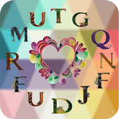 Quilling Alphabets Wallpapers – Alphabets Designs icon