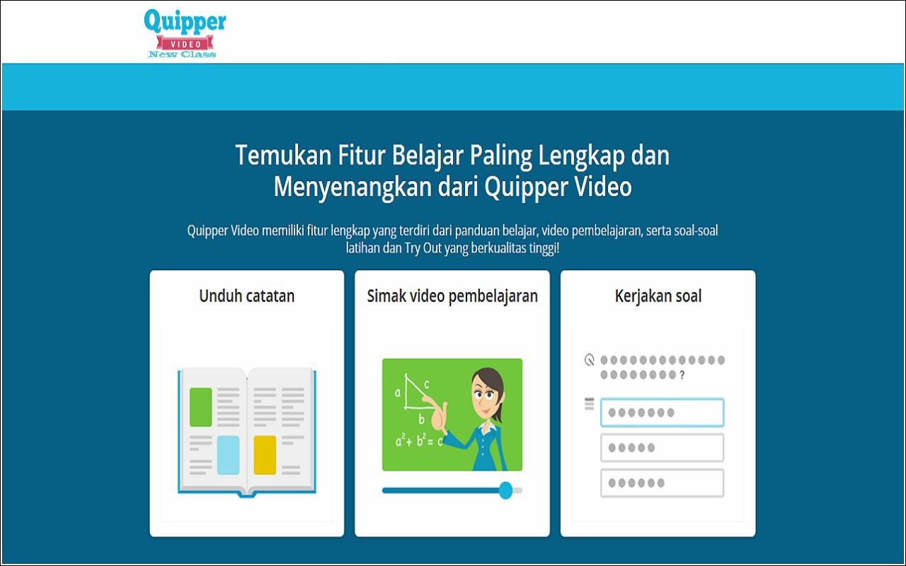 Quipper video new class apk download free education app for quipper video new class poster quipper video new class apk screenshot stopboris Gallery