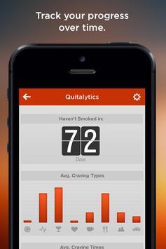 QuitCharge - Stop Smoking apk screenshot