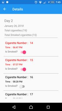 Quit Smoking Slowly screenshot 1