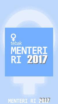 Tebak Nama Menteri Republik Indonesia poster