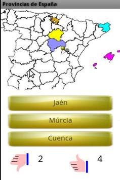 Learn the Provinces of Spain apk screenshot