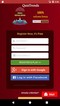 QuizTrendz apk screenshot