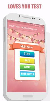 Love Quiz - does he/she loves Me screenshot 3