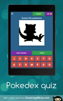 Pokedex quiz 截圖 9