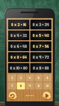 Multiplication Table Kids Math apk screenshot