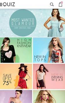 Quiz Clothing poster