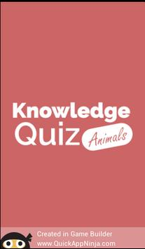 Animal Quiz - Quess The Animal poster
