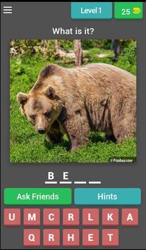 Animal Quiz - Quess The Animal screenshot 1