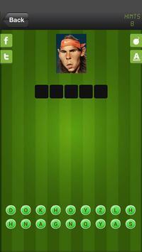 Guess The Tennis Players Quiz screenshot 10