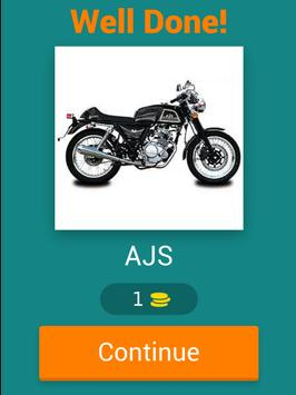 Motorcycles Quiz apk screenshot