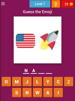 Guess the Emoji Puzzle poster