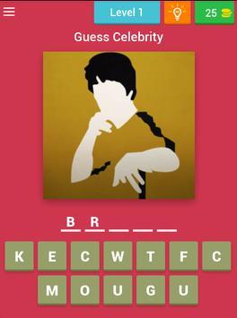 The Celebrity Name Quiz Free screenshot 8