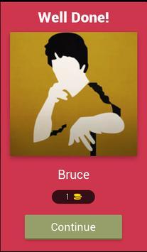 The Celebrity Name Quiz Free screenshot 1