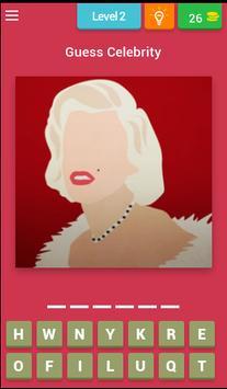 The Celebrity Name Quiz Free screenshot 2