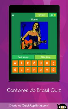 Cantores do Brasil Quiz screenshot 9