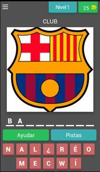 Escudos de Fútbol Quiz poster
