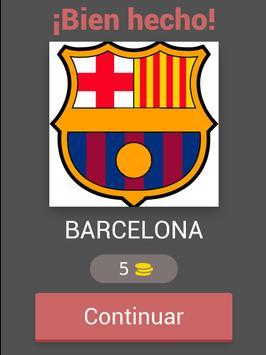 Escudos de Fútbol Quiz apk screenshot