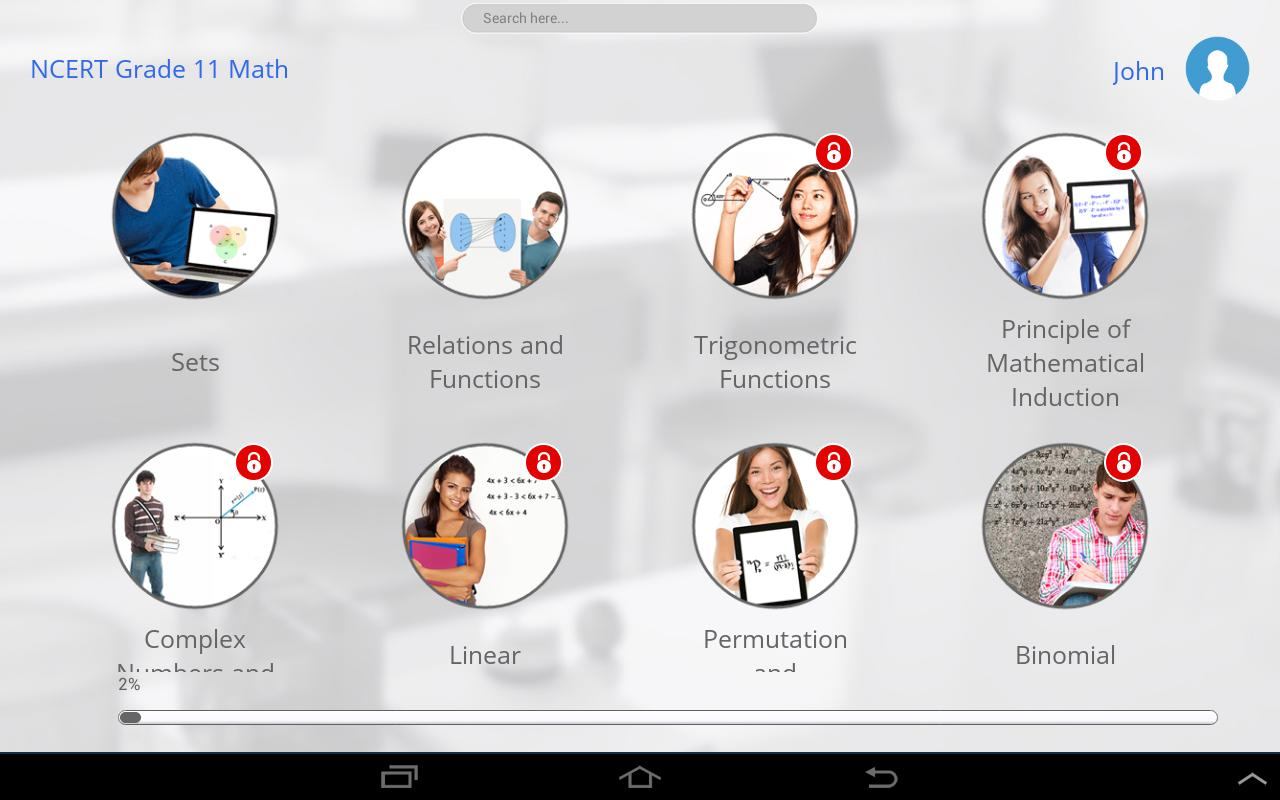 NCERT Grade 11 Math for Android - APK Download