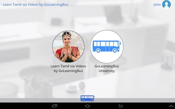 Learn Tamil via Videos apk screenshot