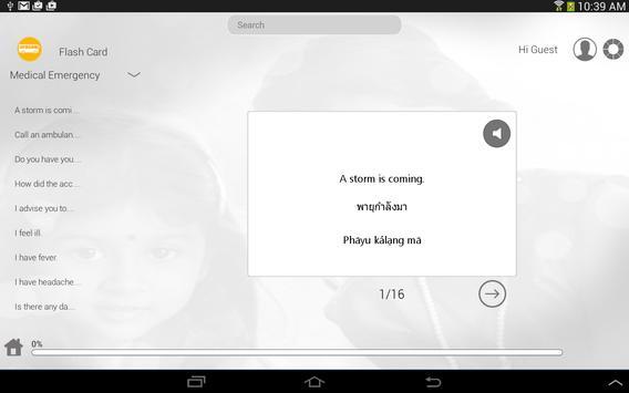 Learn Thai via Vidoes apk screenshot