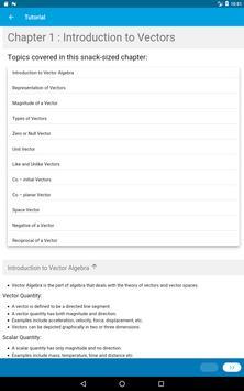 Learn Vector Algebra screenshot 10
