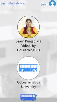 Learn Punjabi via Videos apk screenshot