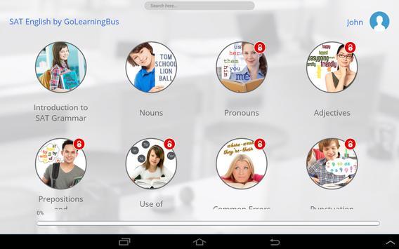 SAT Math and English apk screenshot