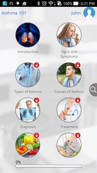 Asthma 101 by GoLearningBus screenshot 3