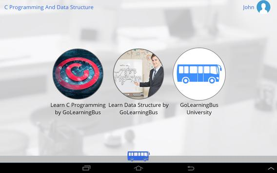C Programming & Data Structure apk screenshot