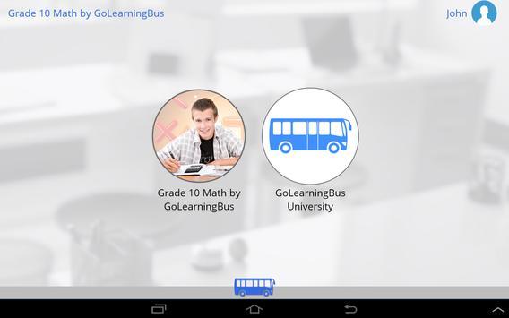 Grade 10 Math by GoLearningBus screenshot 7