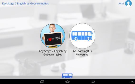 KS2 English by GoLearningBus apk screenshot