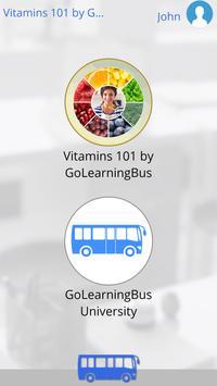 Vitamins 101 by GoLearningBus تصوير الشاشة 2