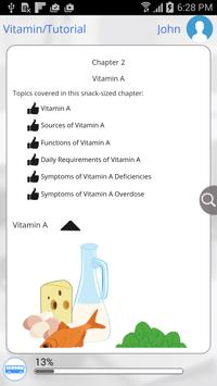Vitamins 101 by GoLearningBus تصوير الشاشة 4