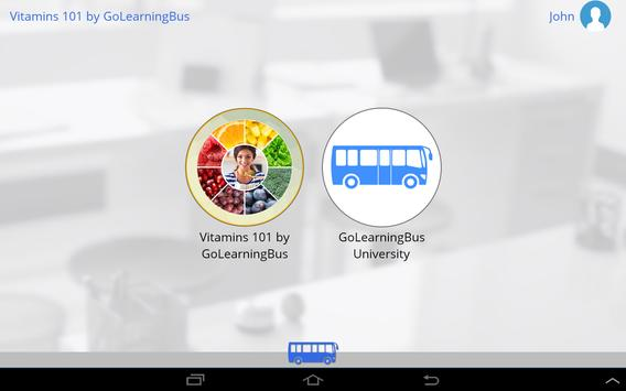Vitamins 101 by GoLearningBus تصوير الشاشة 8