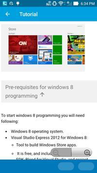 Learn Windows 8 Programming screenshot 5