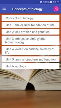 Concepts of Biology screenshot 2