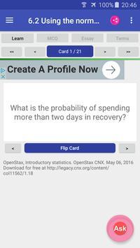 Introductory Statistics syot layar 3