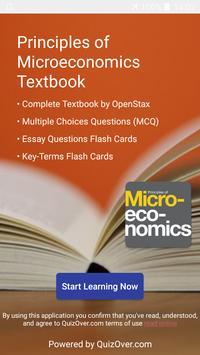 Principles of Microeconomics الملصق