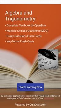 Algebra and Trigonometry Textbook & Question Bank الملصق