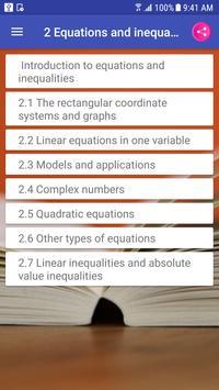 Algebra and Trigonometry Textbook & Question Bank تصوير الشاشة 2