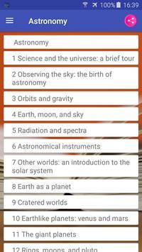 Astronomy Textbook, MCQ, Test Bank, Flash Cards تصوير الشاشة 1