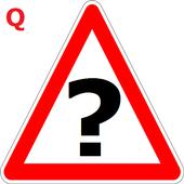 trafik işaretleri testi icon