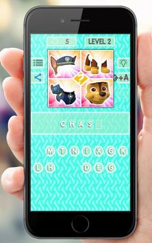 Quiz Paw Puppy apk screenshot