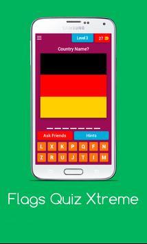 Flags Quiz Xtreme : Conquer screenshot 1