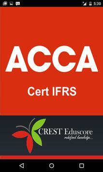 Cert IFRS poster