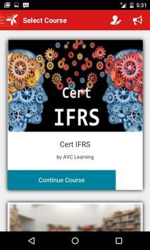 Cert IFRS apk screenshot